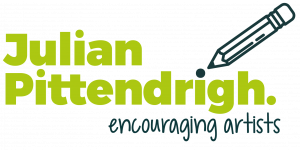 logo with pencil icon